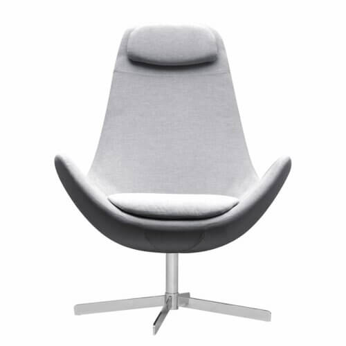Studio Copenhagen Houston Sessel grau aus Webstoff