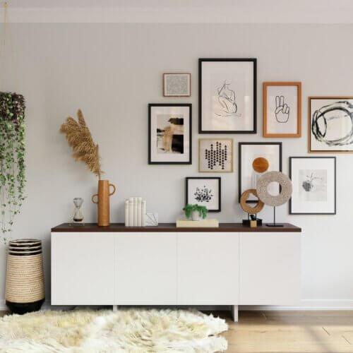 Skandinavische Sideboards: Die schönsten Ideen für dein Zuhause