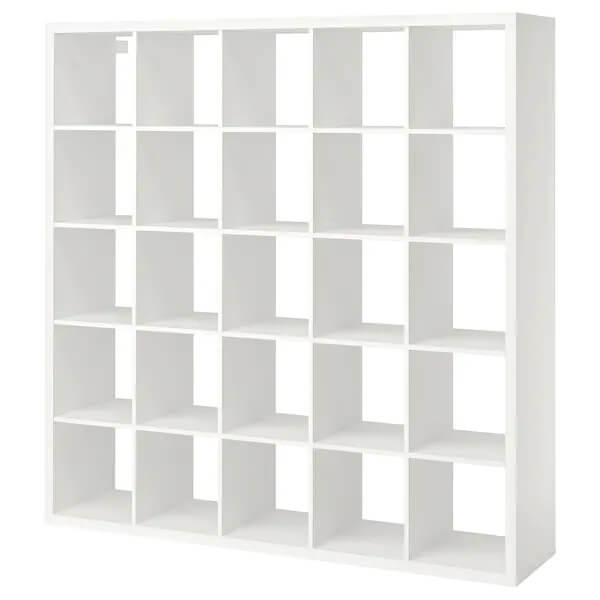 Skandinavische Bücherregale Kallax