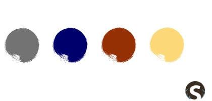 Skandinavische Farben für außen