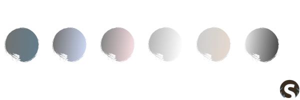 Typisch skandinavische Farbkombinationen