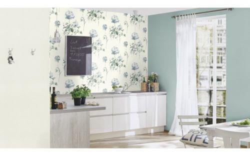Schwedische Tapete mit Floralmuster