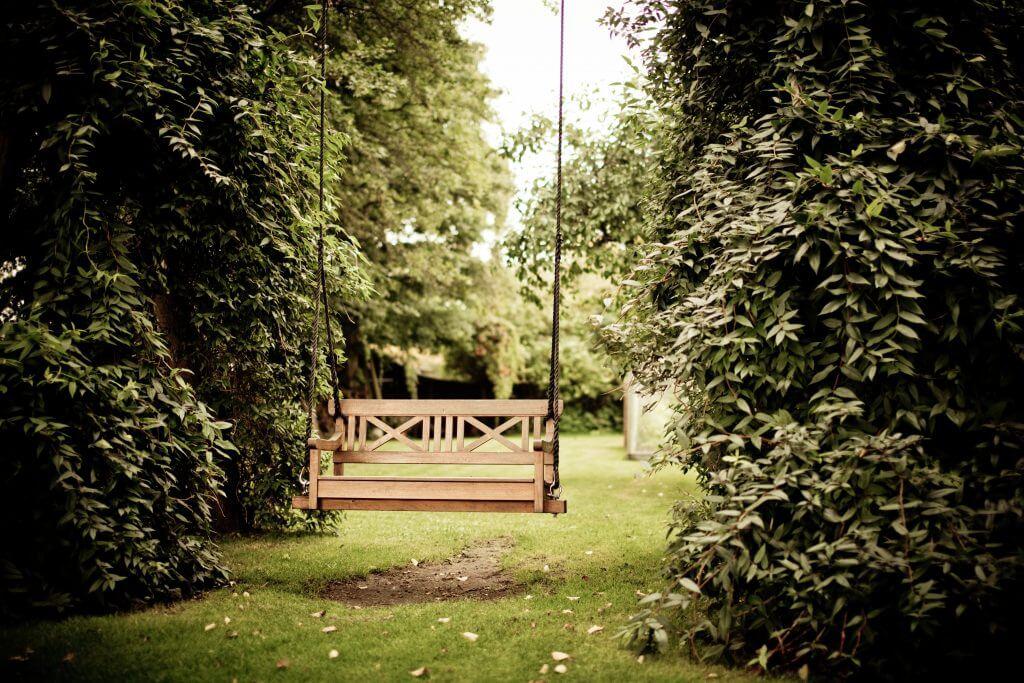 Skandinavische Gartenmöbel aus Holz