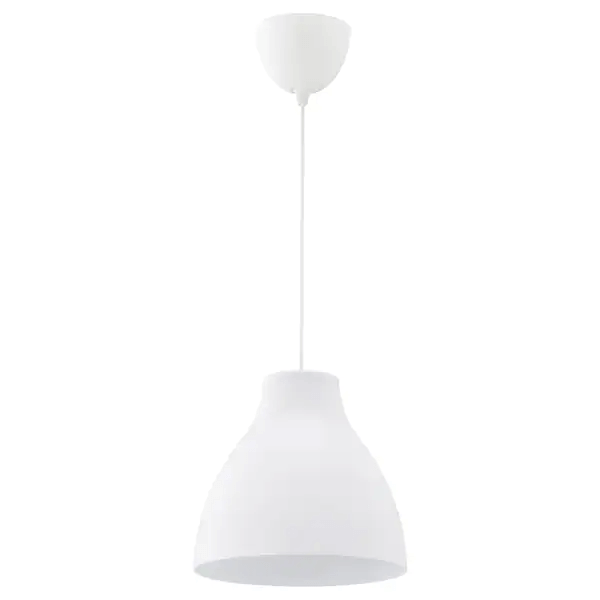Skandinavische Lampe weiss