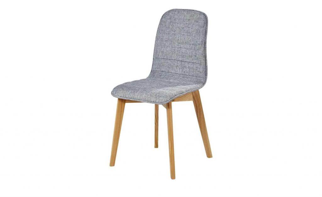 Skandinavischer Stuhl Klassiker Stoff