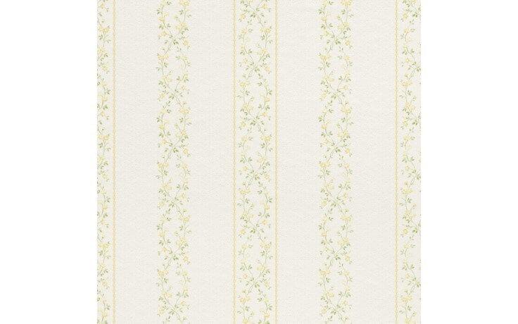 Klassische Floraltapete
