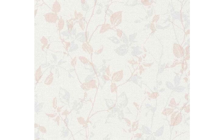 Klassische Vintage-Tapete mit dezentem Floralmuster