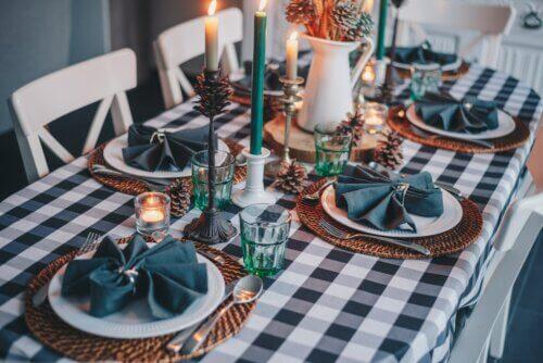 Skandinavische Tischdecke – Nordische Gemütlichkeit für dein Esszimmer