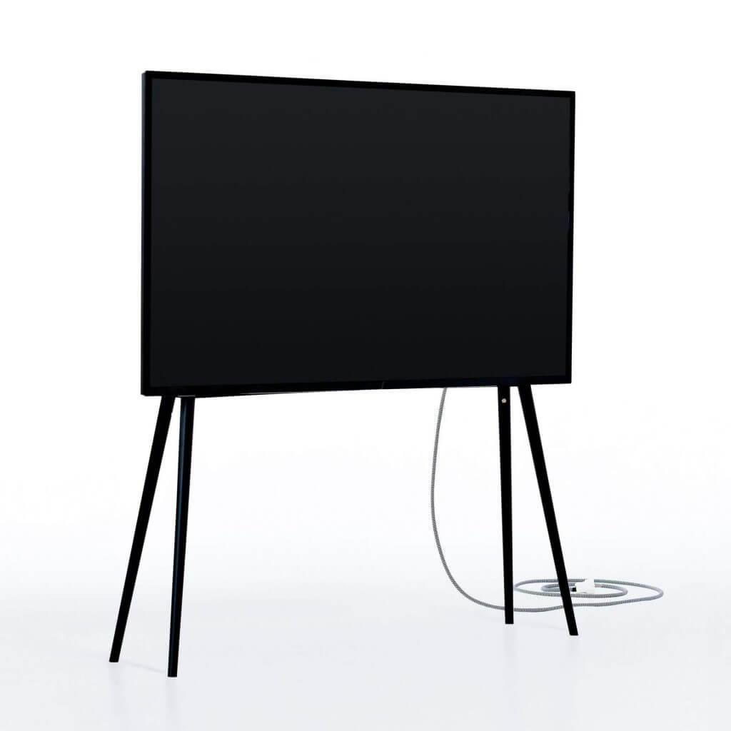 Skandinavischer TV-Ständer Birke
