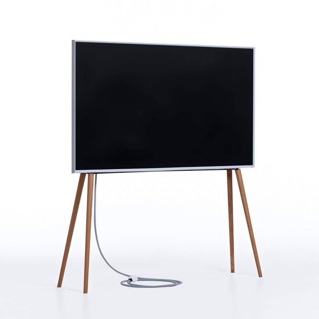 Skandinavischer TV-Ständer Eiche mit Ölwachs
