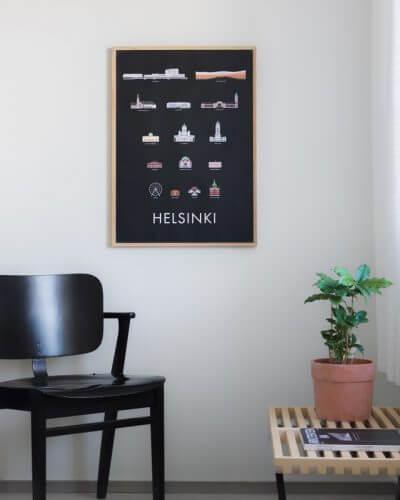 Skandinavische Wanddeko Bilder