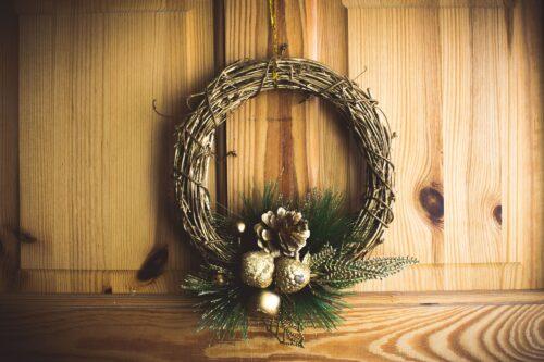 Skandinavische Weihnachtsdeko