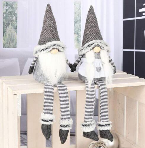Skandinavische Weihnachtswichtel Figuren: Jultomte