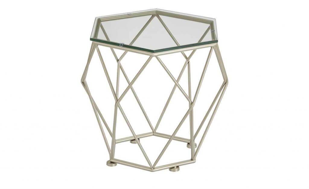 Skandinavischer Couchtisch Glas