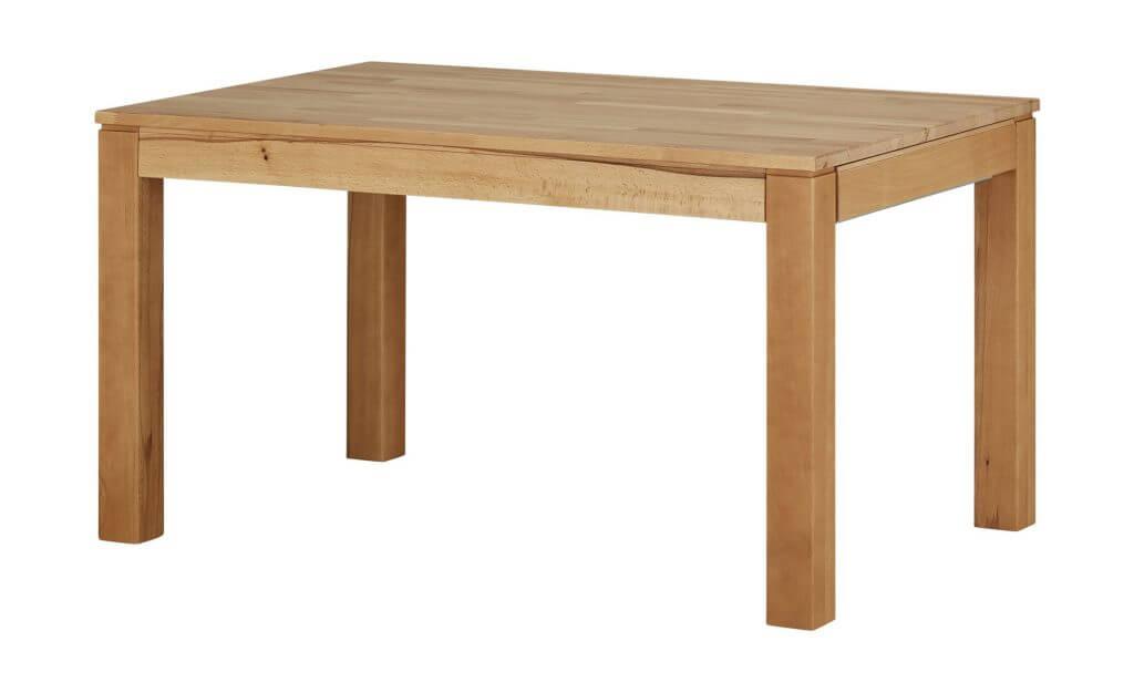 Skandinavischer Esstisch rechteckig Holz ausziehbar