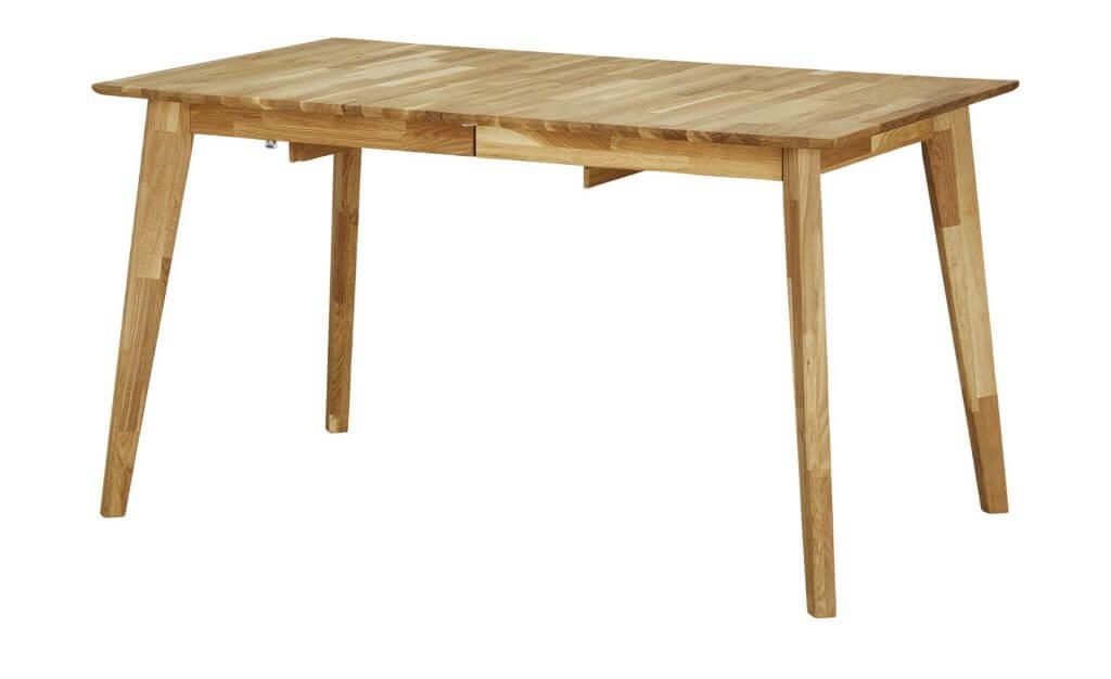 Skandinavischer Esstisch rechteckig Holz