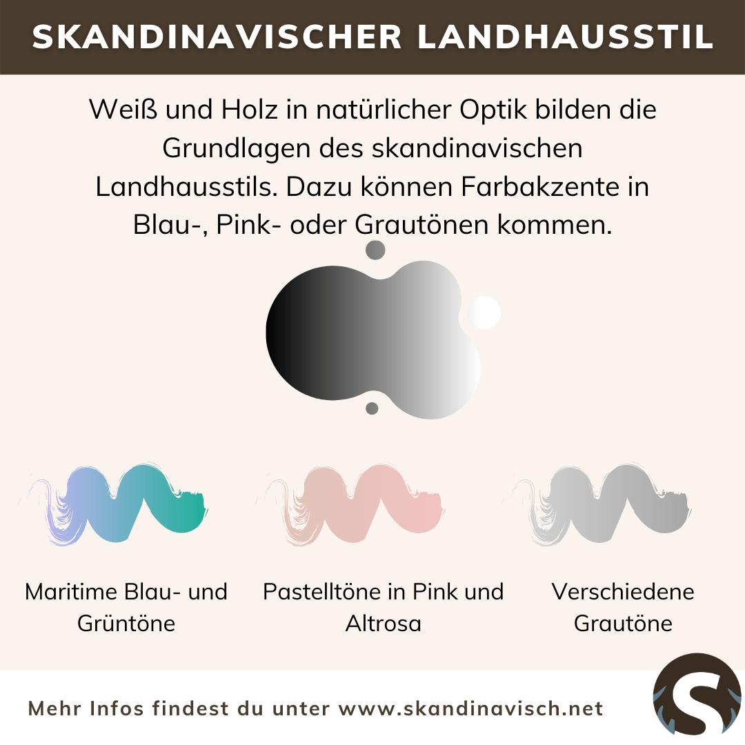 Skandinavischer Landhausstil Farben