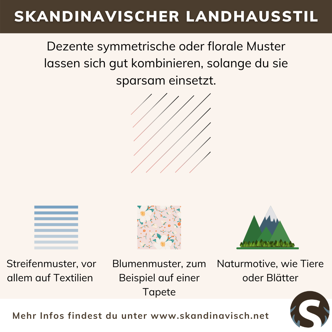 Skandinavischer Landhausstil Muster