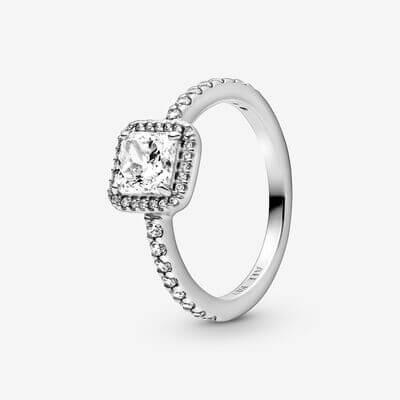 Skandinavischer Ring Pandora silber