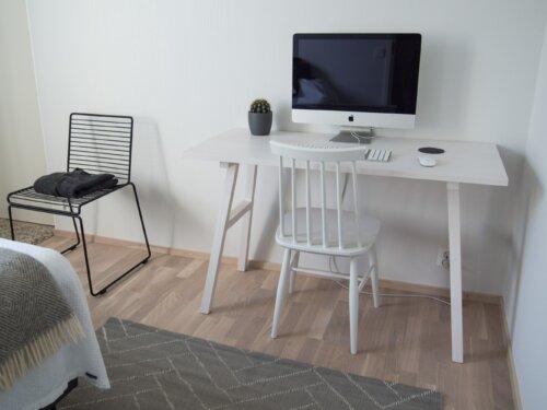 Skandinavischer Schreibtisch – Arbeiten im Scandi-Style