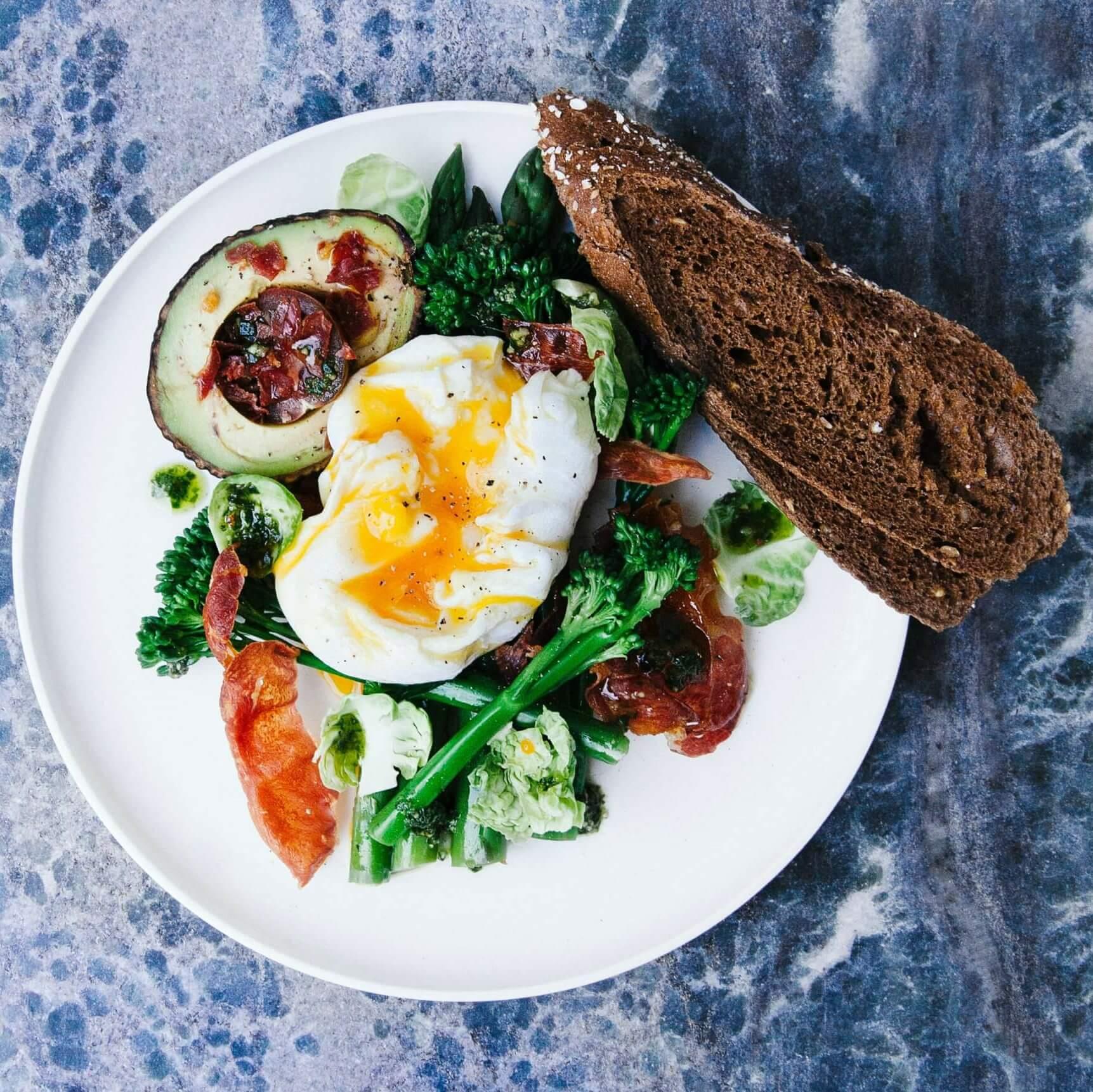 Skandinavisches Frühstück