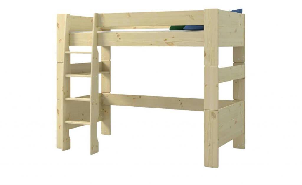 Skandinavisches Hochbett Holz
