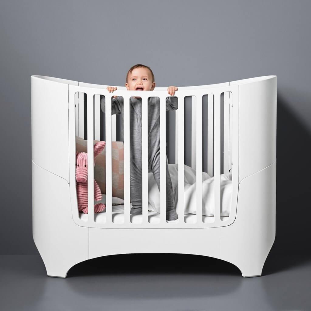 Skandinavische Babymöbel Gitterbett