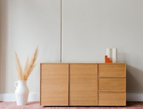 Skandinavisches Sideboard Retro-Look