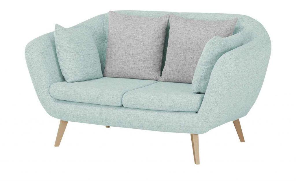 Skandinavisches Sofa Schaumstoffpolsterung pastell