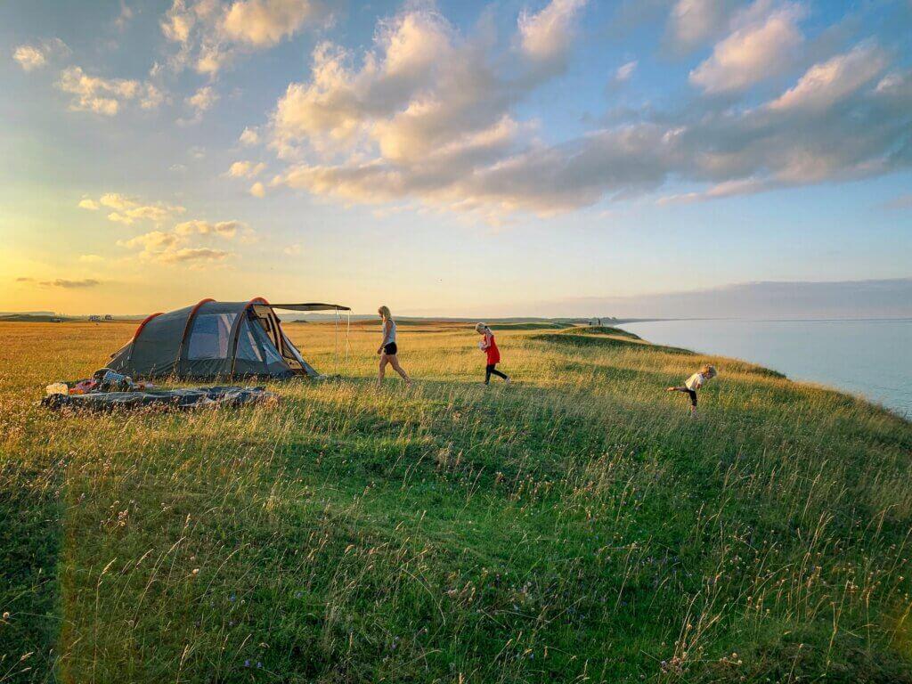 Wildcamping Österlen