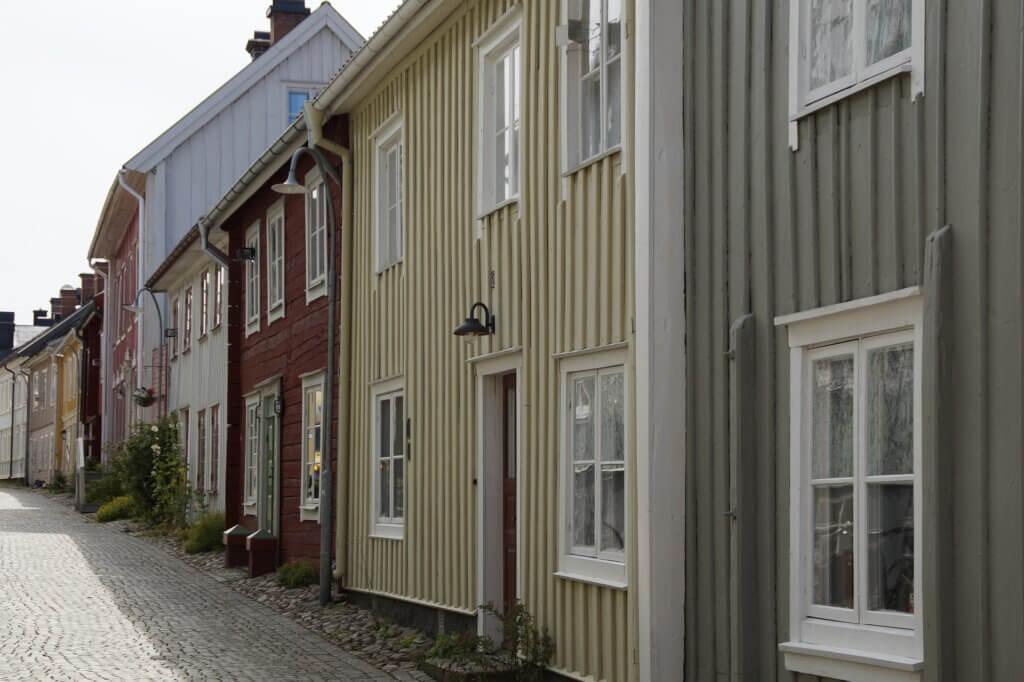 Holzhäuser in Eksjö