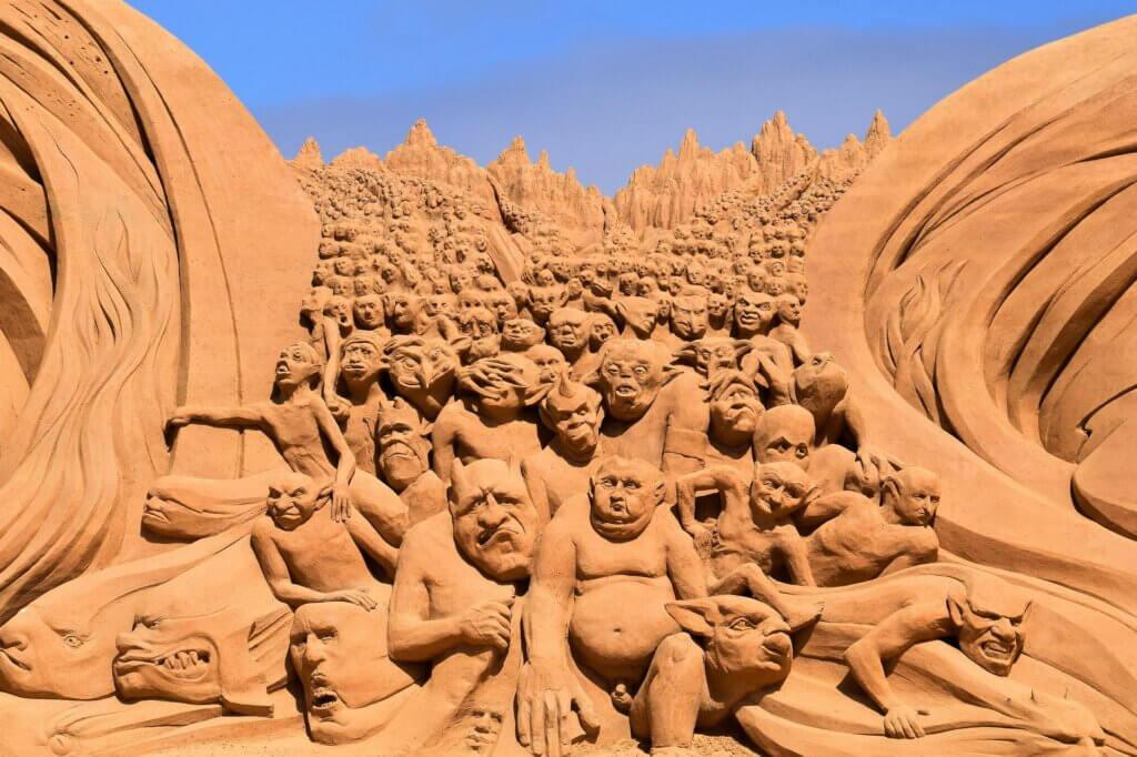 Søndervig: Sandskulpturenfestival