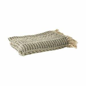 Speedtsberg: Decke aus Baumwolle natur