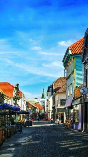 Stavanger: Altstadt