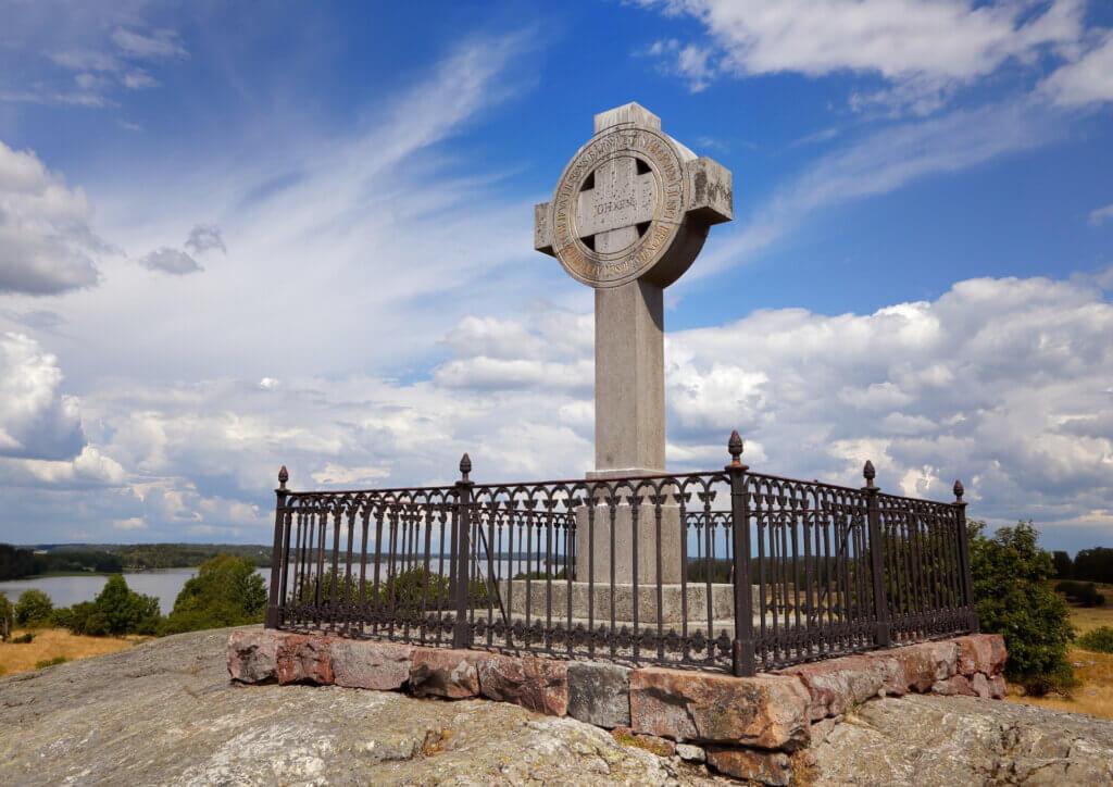 Uppland: Birka Ansgar-Kreuz