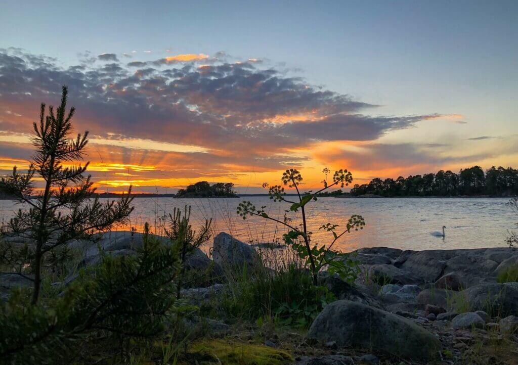 Vaxholm in Uppland