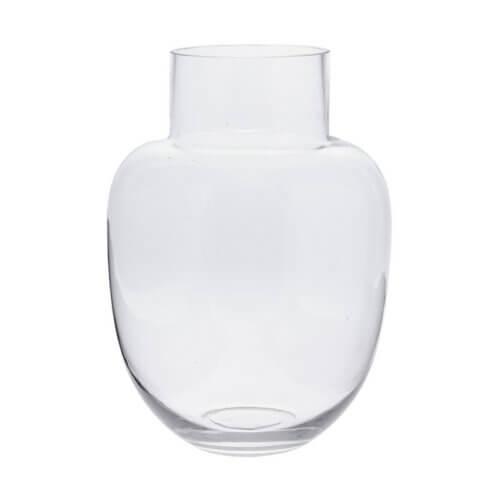 Glas-Vase: Ovansjö