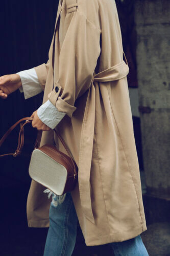 Vero Moda Impressionen Jeans und Trenchcoat