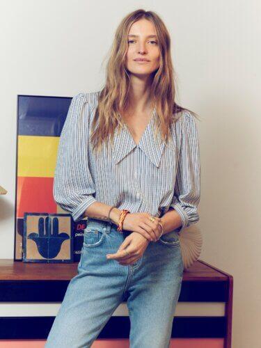 Vero Moda Impressionen Jeans und Hemd
