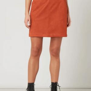 Vero Moda Minirock Verlourslederoptik