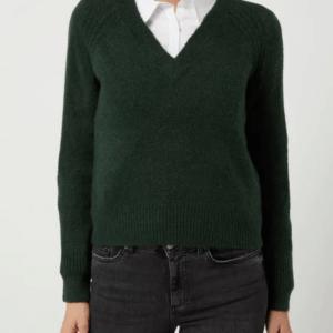 Vero Moda Pullover dunkelgrün