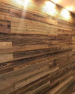 Wandverkleidung aus Altholz zum Kleben